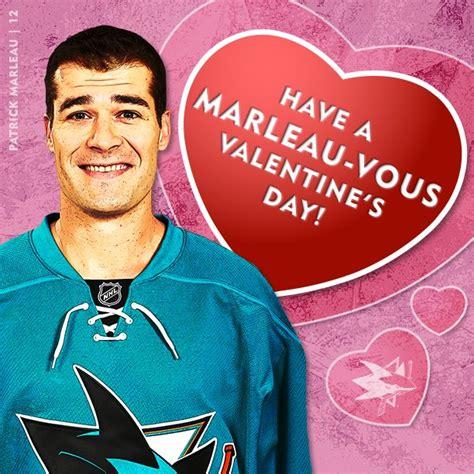 valentines day san jose san jose sharks marleau s day card