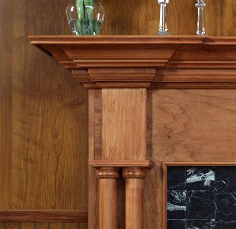 Mantel Shelf Height by Wood Fireplace Mantels Princeton Standard Fireplace