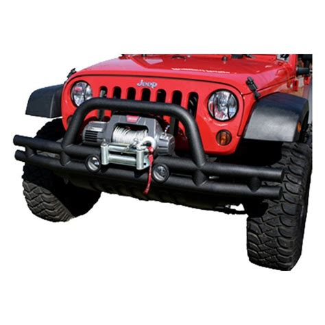 rugged ridge jeep bumpers rugged ridge 174 jeep wrangler 2007 2015 3 quot front bumper