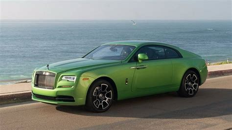 green rolls royce rolls royce wraith goes for the java green color bmw
