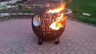 Globe Fire Pit by An Incredible Steel Star Wars Death Star Ii Fire Pit