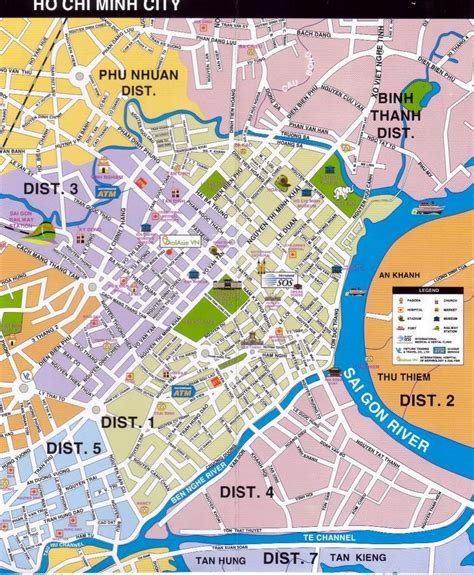 printable map ho chi minh city large ho chi minh city maps for free download and print