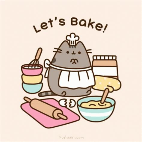baking gif pusheen bake gif pusheen bake baking discover share gifs