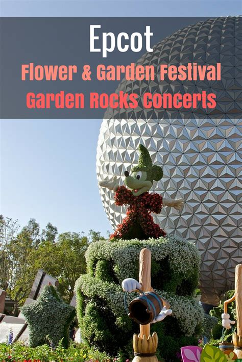 flower and garden festival epcot epcot flower and garden festival garden rocks concerts