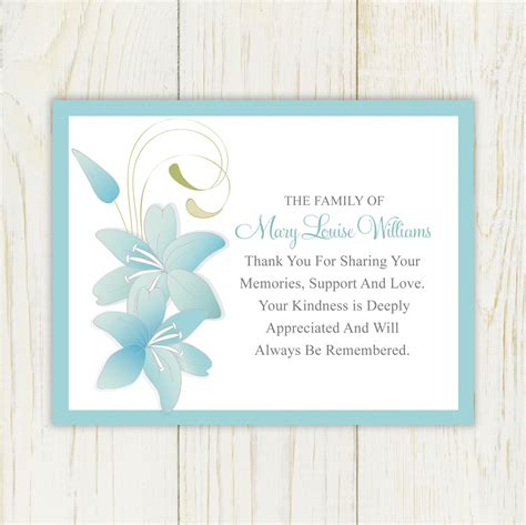 thank you letter sympathy gift sympathy thank you cards wording