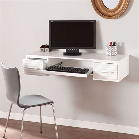 white wall mounted desk 1000 ideas about cord management on cable