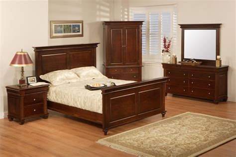 Handcrafted Wood Bedroom Furniture - canadiana classic solid wood bedroom collection canadiana