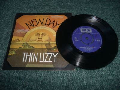 Brb Records Popsike Thin Lizzy New Day Uk 1971 7 Quot Vinyl Single Auction Details