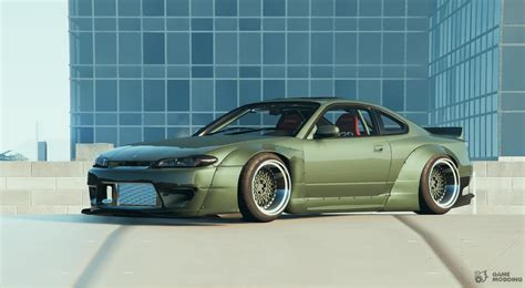 nissan s15 nissan s15 rocket bunny for gta 5