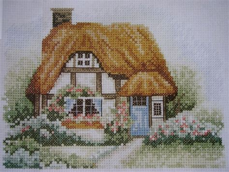 country cottage cross stitch idyllic country cottage cross stitch charts patterns for sale