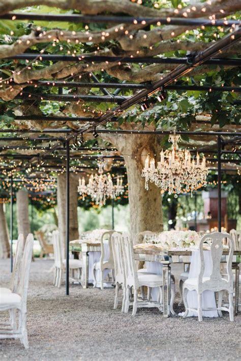 Beautiful rustic outdoor wedding venue in Napa Valley