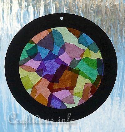 suncatcher craft for summer craft kaleidoscope sun catcher summertime