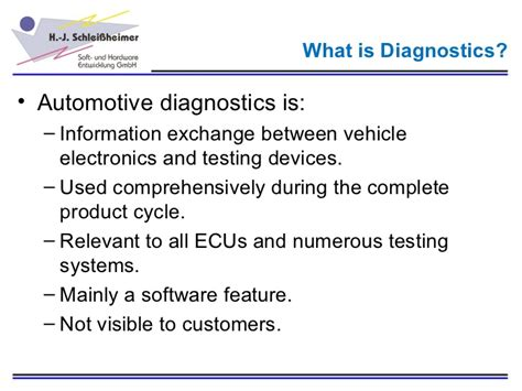 Information Technology In Diagnostics the relevance of diagnostics in automotive software development