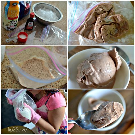 how to make ice cream in a bag hip2save