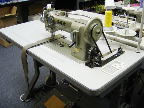 Used Upholstery Sewing Machine by Pfaff 545 Single Needle Walking Foot Sewing Machine Used