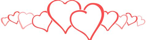 banner design love hearts clipart heart banner pencil and in color hearts