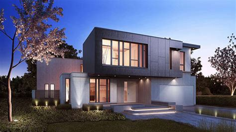 modern home design ontario crafthouse light and modern homes in bayview village of