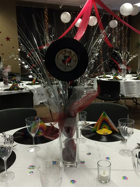 Decoration Rock by Rock N Roll Prom Centerpieces Prom Ideas