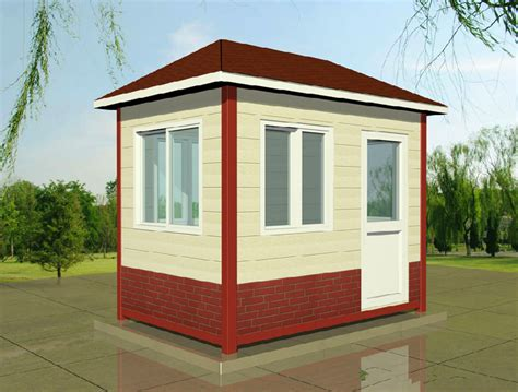 buy prefabricated sentry boxsecurity house guard house
