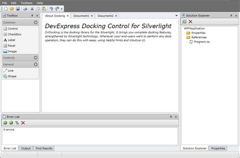dock manager wpf layout control devexpress new silverlight docking control coming in v2010 vol 2