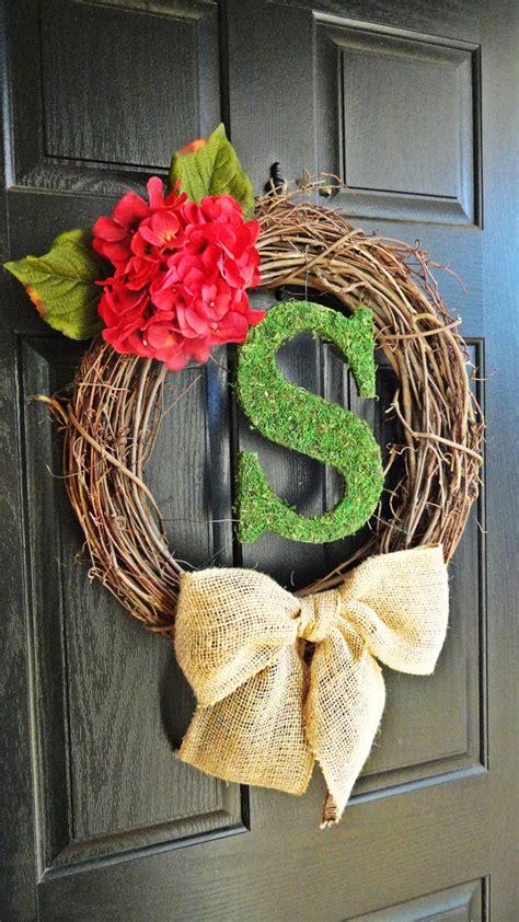 fresh  handmade spring wreath ideas style