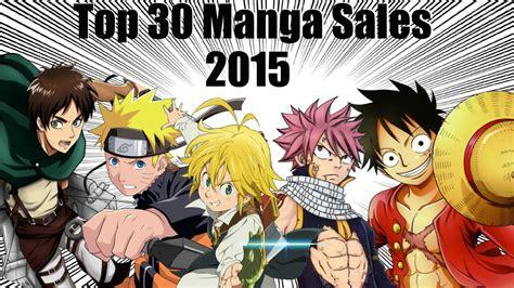 popular mangas top selling in japan by series 2015 half