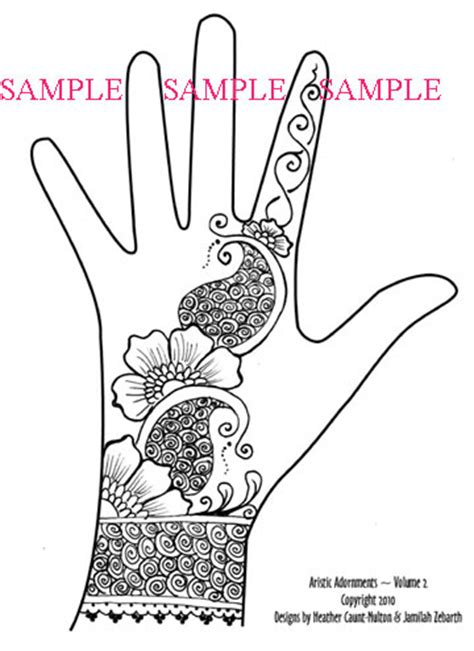 hand drawn tattoo designs henna patterns all about