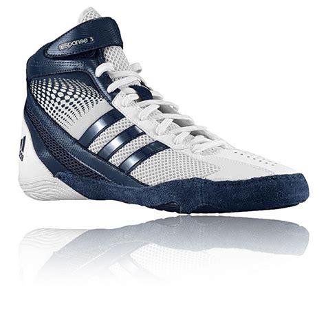 Adidas Mens 1 adidas response 3 1 mens white blue sports shoes trainers pumps ebay