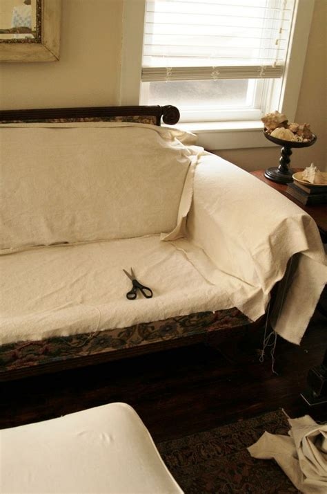 best drop cloths for slipcovers drop cloth slipcover tute for the house pinterest