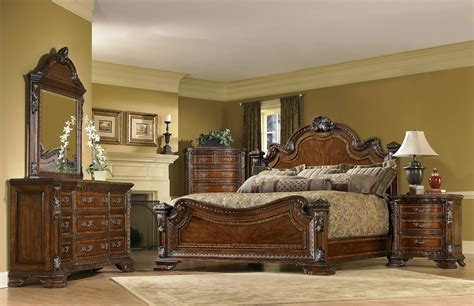 world traditional european style bedroom furniture set