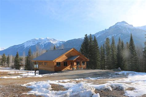 mountain cabin hotel rocky mountain cabins and home golden canada