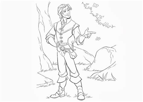 coloring pages and rider flynn rider coloring pages free coloring pages and