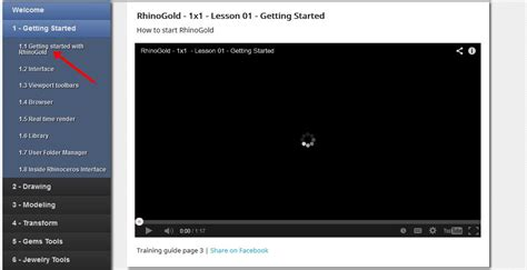 tutorial video rhino how to learn rhino 3d for free