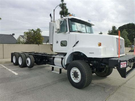 heavy duty volvo trucks for sale 1999 volvo wg64 heavy duty cab chassis truck for sale