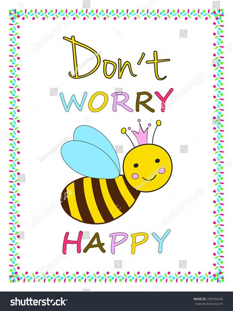 card bee template greeting card template smiling stock vector