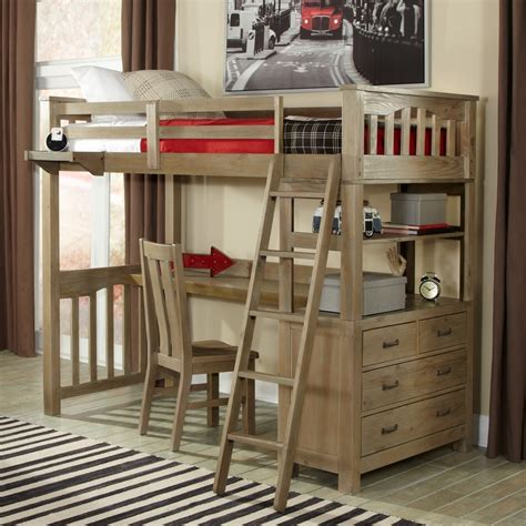 Furniture Loft Bed by Highlands Loft Bed