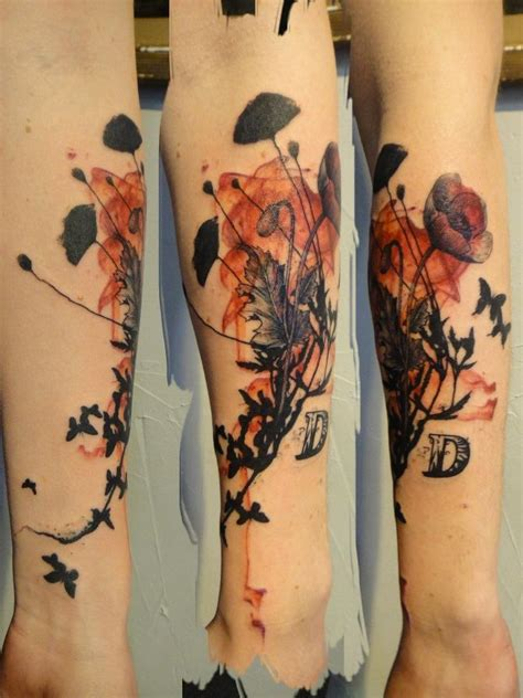 watercolor tattoo needle