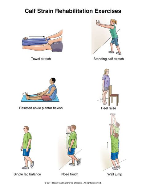 exercises for calf muscles at home