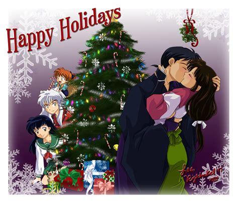 christmas kiss wallpaper mistletoe kiss by righteousred on deviantart