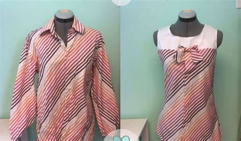 Zaema Dress By D Lovera s dress shirt refashion a pinspiration project sewing chemises s