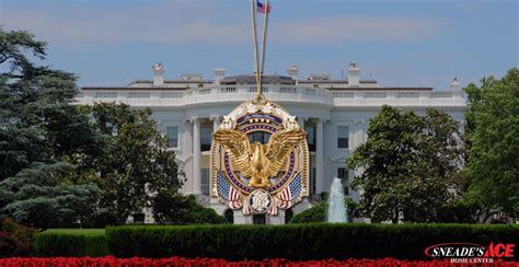 white house facebook white house ornaments facebook sneade s ace home centers