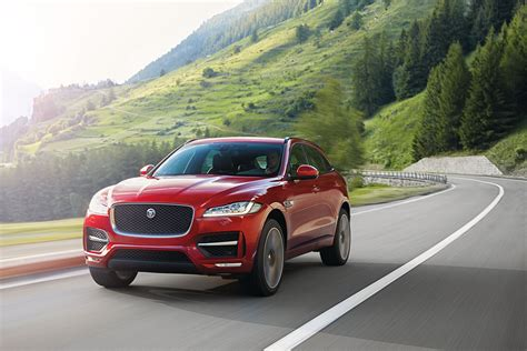 new jaguar f pace suv frankfurt debut prices engines