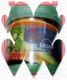 Masker Rambut Ginseng hair tonic penumbuh rambut anti uban masker rambut