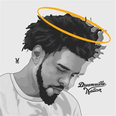 J Cole Drawing Easy forrest drive 2014
