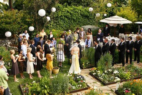Small Garden Wedding Ideas Small Wedding Ideas My Bridal Pix