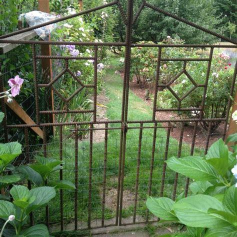 rebar garden rebar garden gate garden inspiration