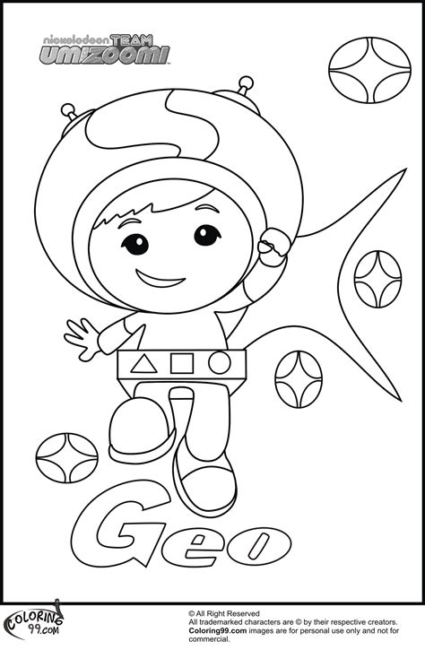 Coloring Page Umizoomi by Free Coloring Pages Of Umizoomi Geo