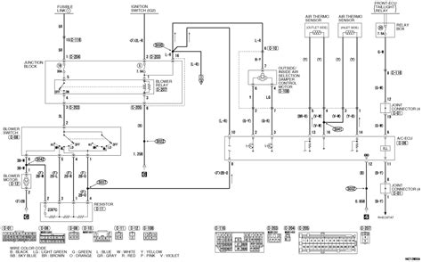 2003 mitsubishi outlander air conditioner diagram get