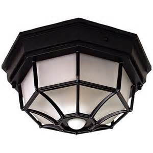 Outdoor Ceiling Light Motion Sensor Octagonal Black Motion Sensor Outdoor Ceiling Light