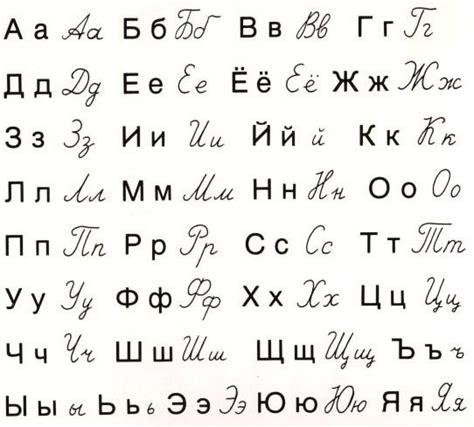 printable russian alphabet pdf cyrillic alphabet alphabet russisch und sprachen